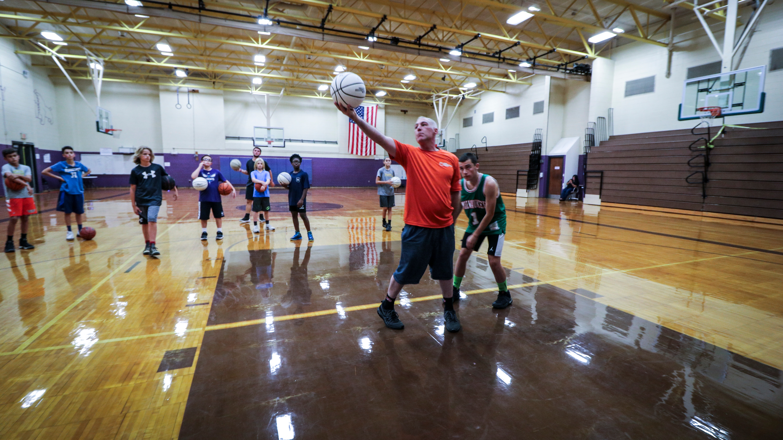 Training Basketball Players