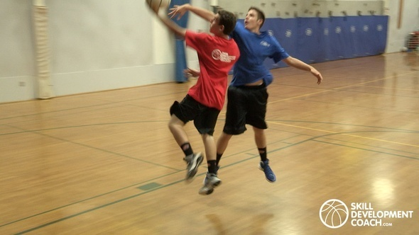 basketball moves to avoid getting blocked