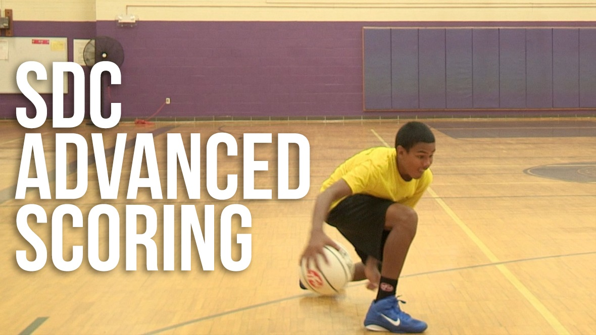 Advanced scorers use the pull back series to create space